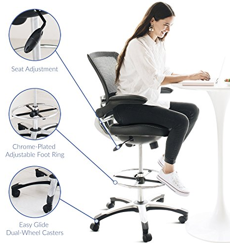 Feature of Modway Edge Chair