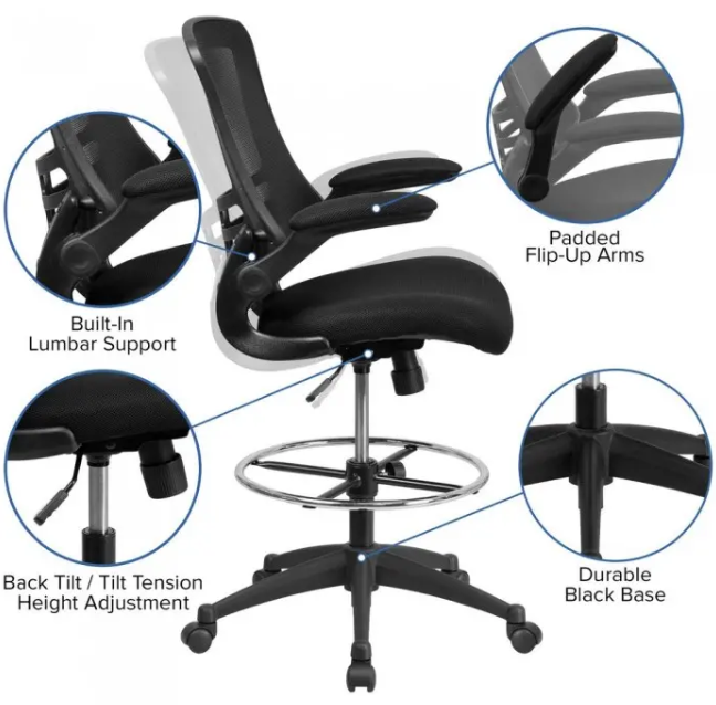 mid-back-drafting-chair-Review