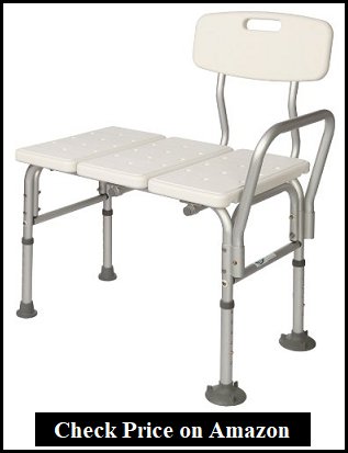Carex Tub Transfer Bench - Especially design for patients