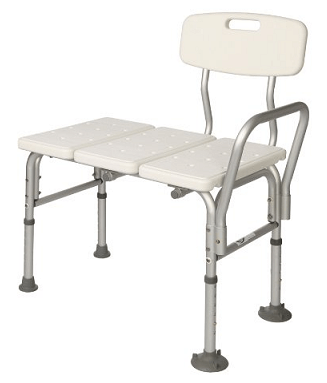 Shower chair for back surgery patients