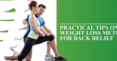 How to lose weight for Back Pain Relief?