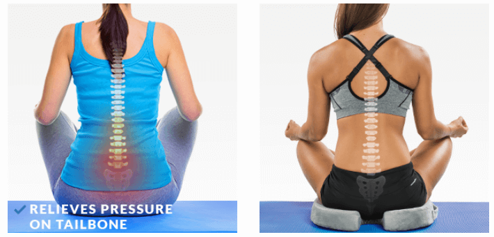 How Comfilife Gel Enhanced Seat Cushion helps to relief back pain