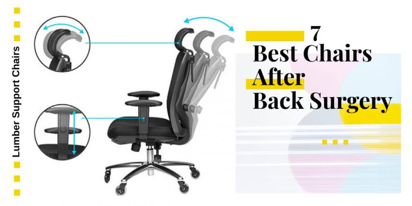 7 Best Chairs After Back Surgery