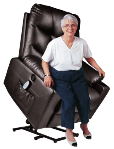 Urred Best Power Lift Recliner with Heat and Massage