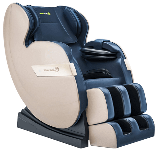 Real Relax Massage Chair with Heat Foot Roller