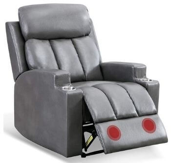 ANJ PU Leather Recliner Chair