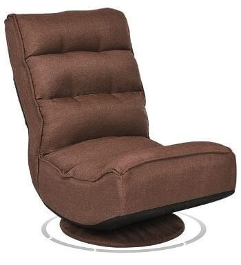 Giantex 360 Degree Swivel Lazy Sofa Chair for TV
