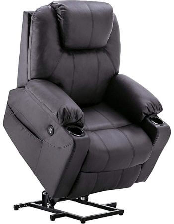 Electric power recliner for osteoporosis