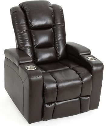 Everette Power Motion Lay Flat Electric Recliner