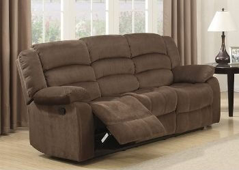 Modern Living Room Reclining Sofa with Padded Pillow