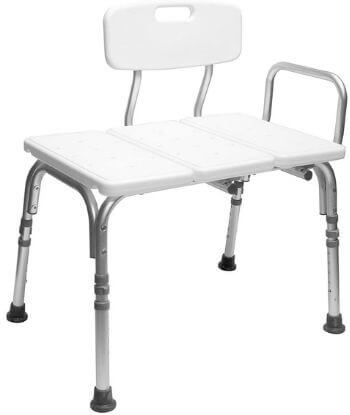 Carex Tub Transfer Bench - Shower Chair after Back Surgery