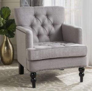 Christopher Knight Tufted Club Chair