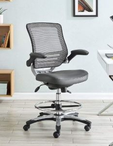 Modway Edge Drafting Chair for Standing Desk