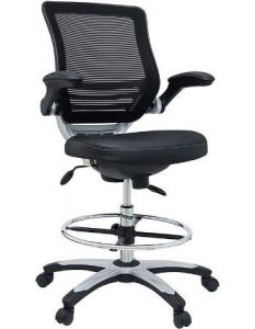 Modway Reception Desk Chair for Back Pain